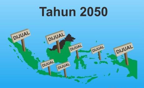 Indonesia Diprediksi Bakal Pecah Jadi 12 Negara Bagian