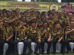 Jambore Bela Negara AMPG, Novanto Ingatkan Pemuda BangunBangsa