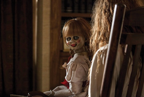 Boneka Annabelle dalam The Conjuring