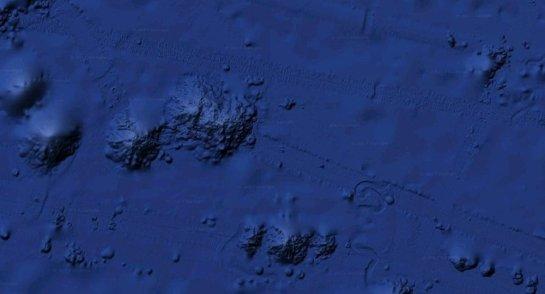 Ditemukan Objek Misterius Diameter 2,5 Mil di Lepas Pantai California