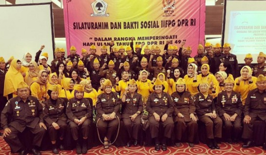 Ikatan Istri Anggota DPR Golkar Minta Pemerintah Lebih Peduli ke Veteran
