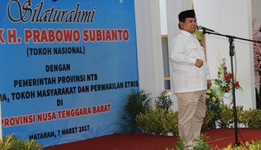 Prabowo Subianto Suara Saya Sangat Besar di Sini