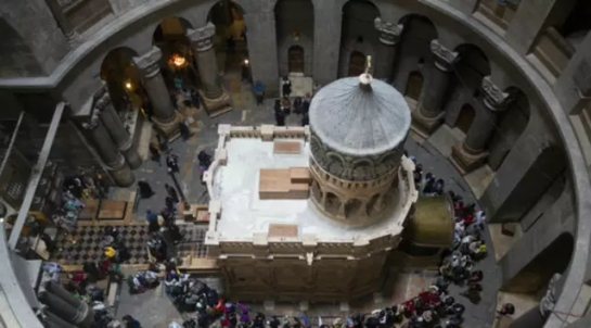 Setelah 200 Tahun, Makam Yesus Direstorasi dengan Dana Rp 53 M