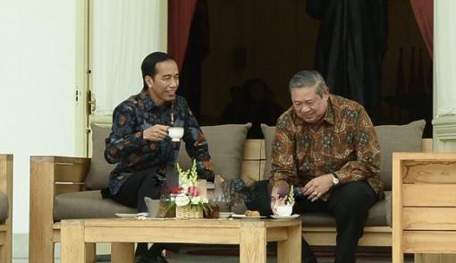 Usai Jumpa Jokowi, SBY Maju Kena Mundur Kena