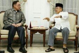 Anwar Ibrahim Temui Jusuf Kalla Bahas Kondisi MalaysiaTerkini