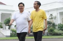 Survei LSI, Airlangga Hartarto Cawapres Terkuat Jokowi Dari KalanganPartai