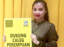 Wa Ode Rabia Al Adawia, Putri Ridwan Bae Jadi Calon Anggota DPR RI Perempuan Termuda DariSultra