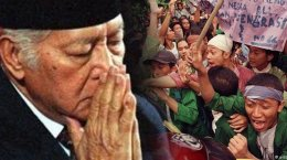 Malam Sebelum Lengser, Soeharto Dapat Pukulan Keras dan Dikecawakan Habibie, Ini KondisiSebenarnya