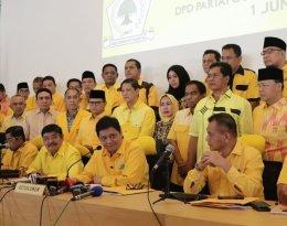 34 DPD I Partai Golkar se-Indonesia Sepakat Airlangga Hartarto Jadi CawapresJokowi