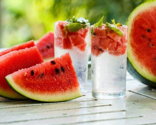 Image result for infused water semangka dan kurma
